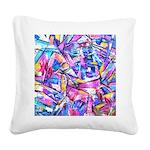 Fractal Prism1 Square Canvas Pillow