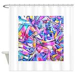 Fractal Prism1 Shower Curtain