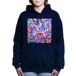 Fractal Prism1 Women's Hooded Sweatshirt