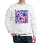 Fractal Prism1 Sweatshirt