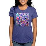 Fractal Prism1 Womens Tri-blend T-Shirt