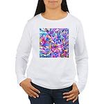 Fractal Prism1 Women's Long Sleeve T-Shirt