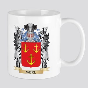 Werl Coat of Arms - Family Crest Mugs