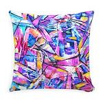 Fractal Prism1 Everyday Pillow