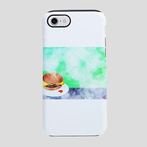 Watercolor Hamburger iPhone 8/7 Tough Case