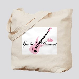 Guitar Princess Tote Bag