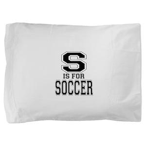 S is for Soccer Pillow Sham