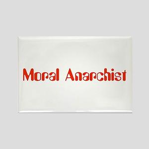 Moral Anarchist Rectangle Magnet (10 pack)