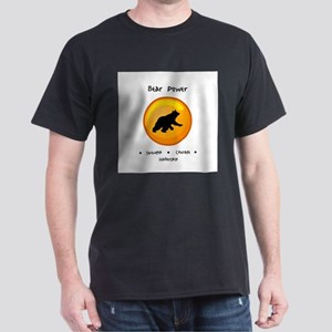 Circle Bear Totem Power Gifts T-Shirt