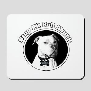 Stop Pitbull Abuse Mousepad