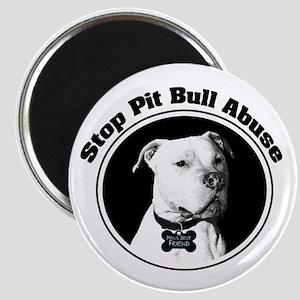 Stop Pitbull Abuse Magnet