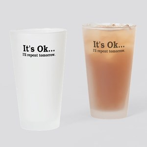 repent Drinking Glass