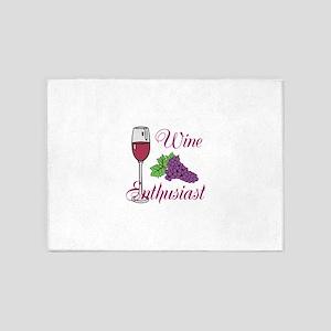 Wine Enthusiast 5'x7'Area Rug
