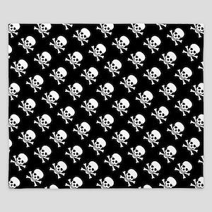 Skull n Crossbones King Duvet