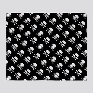 Skull n Crossbones Throw Blanket