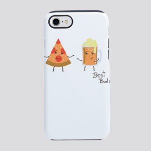 Best Buds Beer And Pizza Car iPhone 8/7 Tough Case