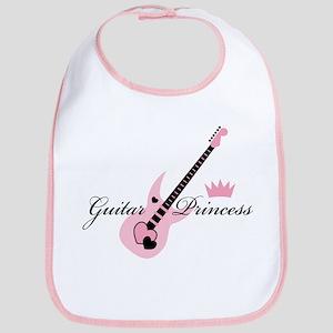 Guitar Princess Bib