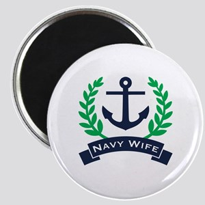 Navy Wife Anchor Magnet