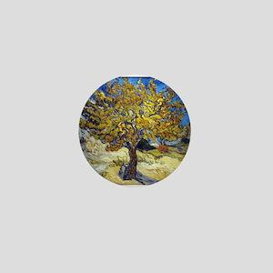 Van Gogh Mulberry Tree Mini Button