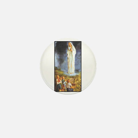 Our Lady of the Rosary - Fati Mini Button