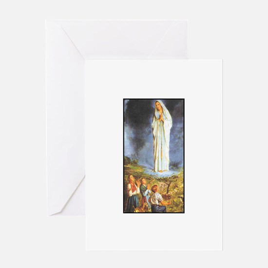 Our Lady of the Rosary - Fati Greeting Card