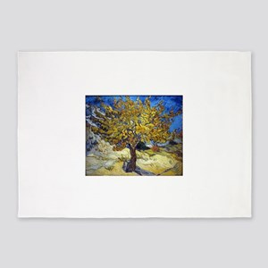 Van Gogh Mulberry Tree 5'x7'Area Rug