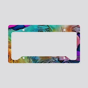 Rainbow Elton License Plate Holder