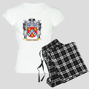 Whitson Coat of Arms - Fami Women's Light Pajamas