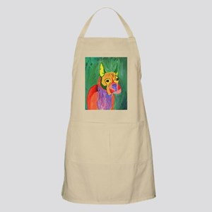 Boxer Dog Art Apron