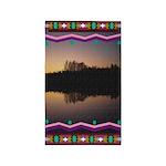 Mirror Lake Indian Motif Area Rug
