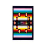 Rainbow Warrior Indian Motif Area Rug