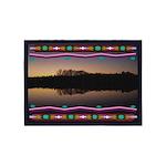Mirror Lake American Indian Motif 5'x7'are