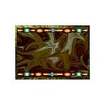 Dancing Fire Indian Motif 5'x7'area Rug