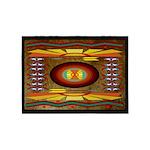 Honey Bear American Indian Motif 5'x7'area