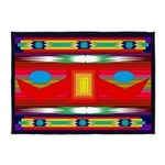 Peaceful Dance American Indian Motif 5'x7'