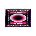 Midnight Music American Indian Motif 5'x7'