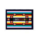 Rainbow Warrior Indian Motif 5'x7'area Rug