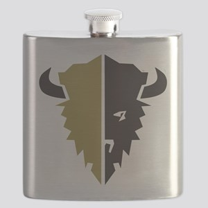 Boulder Buffalo Colorado Flask