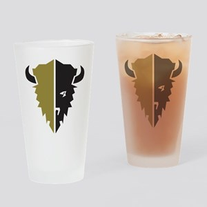 Boulder Buffalo Colorado Drinking Glass
