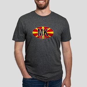 Macedonian Oval Colors T-Shirt