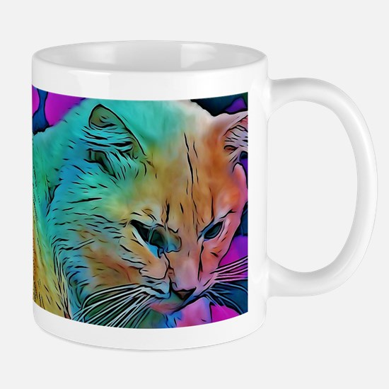 Rainbow Elton Mugs