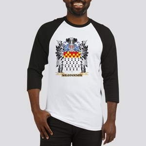 Wilcockson Coat of Arms - Family C Baseball Jersey