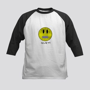 SMILEY FACE QUIET Baseball Jersey