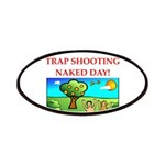 trap shooting Patch