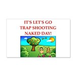 trap shooting Wall Decal