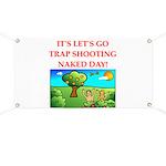 trap shooting Banner