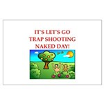 trap shooting Posters