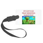 trap shooting Luggage Tag