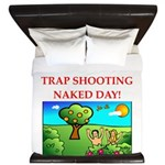 trap shooting King Duvet