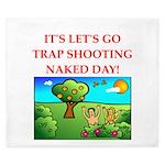 trap shooting King Duvet